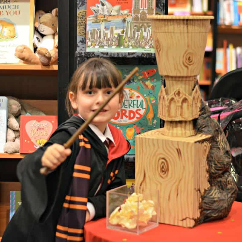 Waterstones Harry Potter Night - Roo The Goblet of Fire