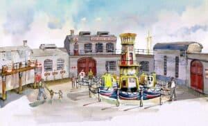 Captain's Sea Adventure - Illustration by D&J Pope Creative Design - RESIZED