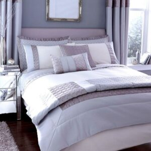 Dunelm Mill Silver Vienna Collection Duvet Cover