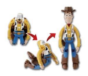 Hatch n Heroes Woody transforming image