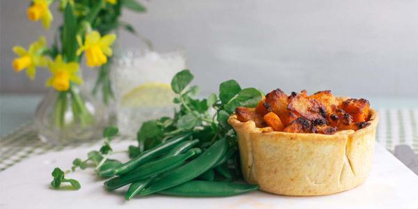 Higgidy Hand Pulled Pork & Sweet Potato Pie
