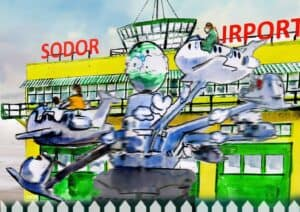 Sodor Airport and Jeremy Jet's Flying Academy - Illustration by D&J Pope Creative Design - RESIZED