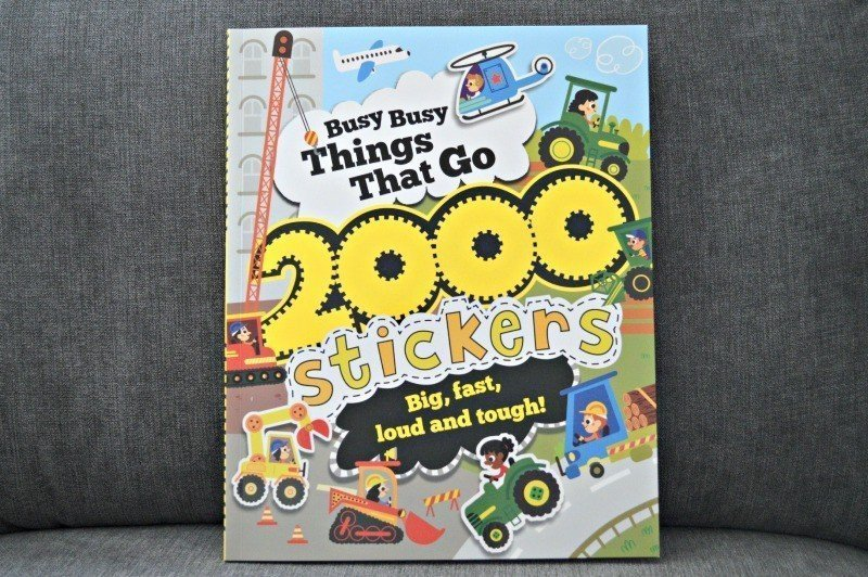 Busy Busy Things That Go 2000 Stickers