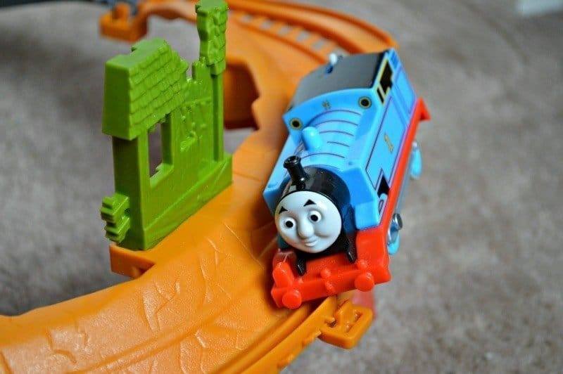 Trackmaster Breakaway Bridge Playset - Thomas riding breakaway track
