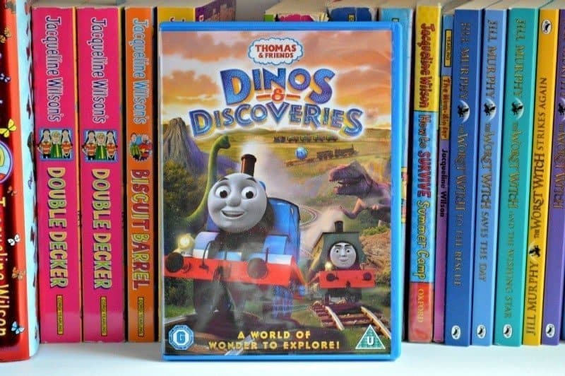 Thomas & Friends - Dinos and Discoveries DVD