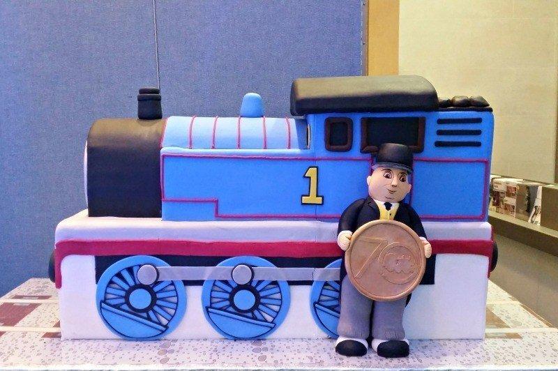 Thomas' VIP Birthday Party - Birthday Cake