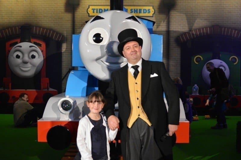 Thomas' VIP Birthday Party - Fat Controller