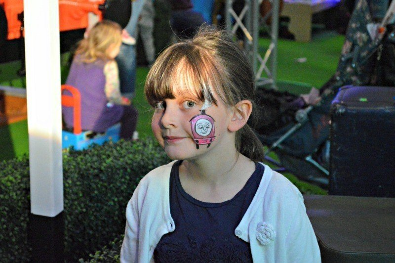 Thomas' VIP Birthday Party - Rosie face paint