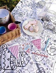 picnic rug & Basket & bunting low res