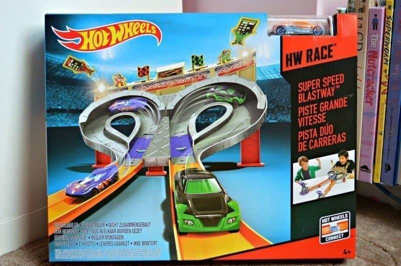 Hot Wheels Super Speed Blastway - Packaging