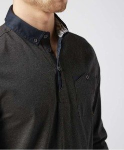 One True Saxon Elmsdale Long Sleeve Polo Shirt - Exclusive