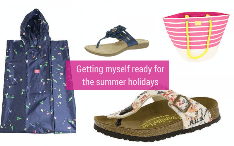 Getting myself ready for the summer holidays