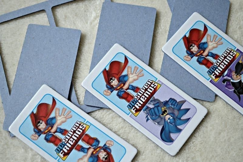 Jumbo Games DC Super Friends Dominoes Game - Dominoes