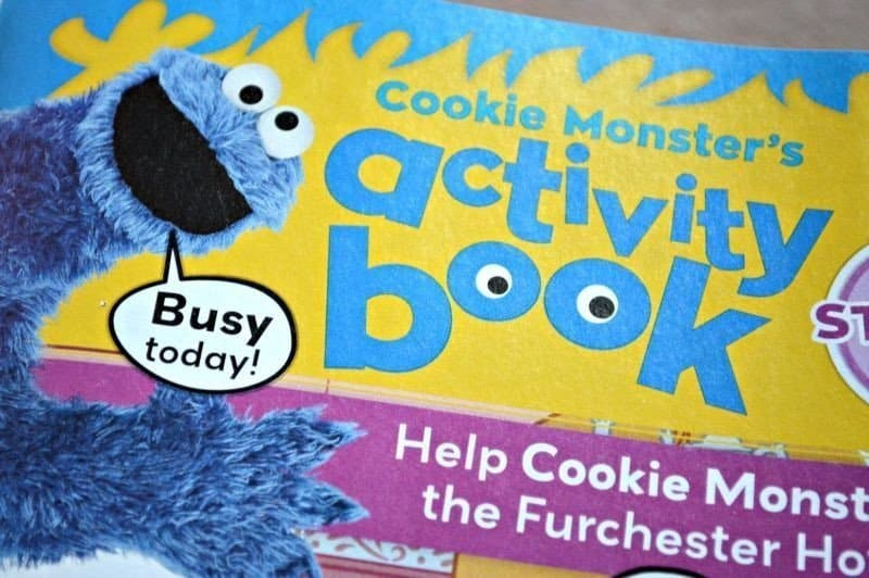 The Furchester Hotel Magazine - Cookie Monster's activity book