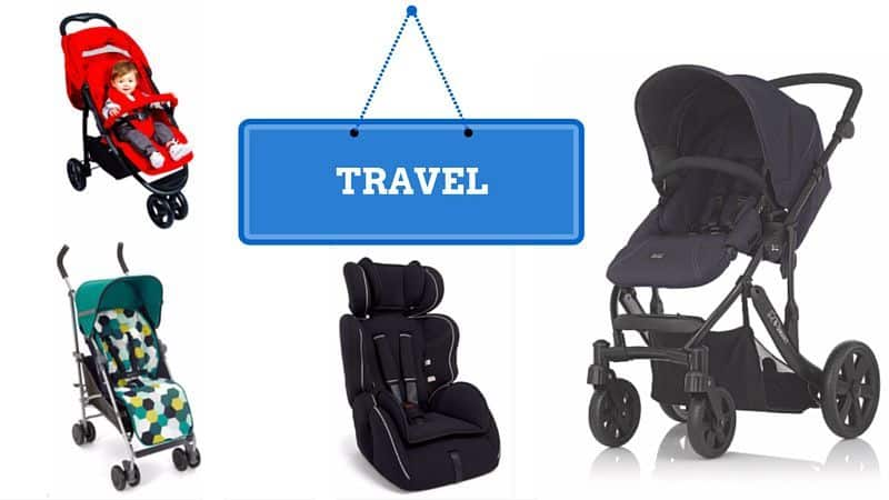 Asda's Baby & Toddler event - Travel
