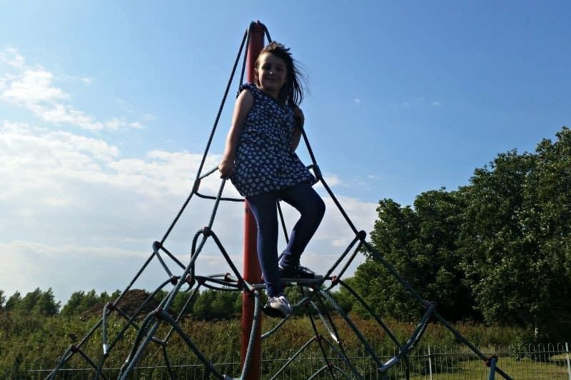 Family fun at Bure Park, Great Yarmouth - Roo play park