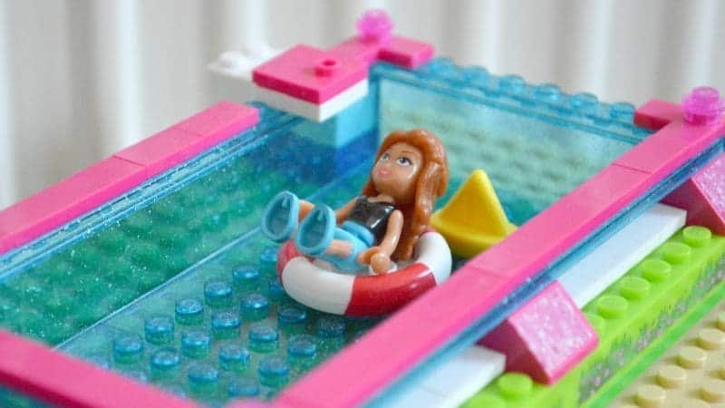 Lego Dream Homes - Roof top swimming pool