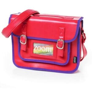 Pink Satchel Insulated Lunch Bag