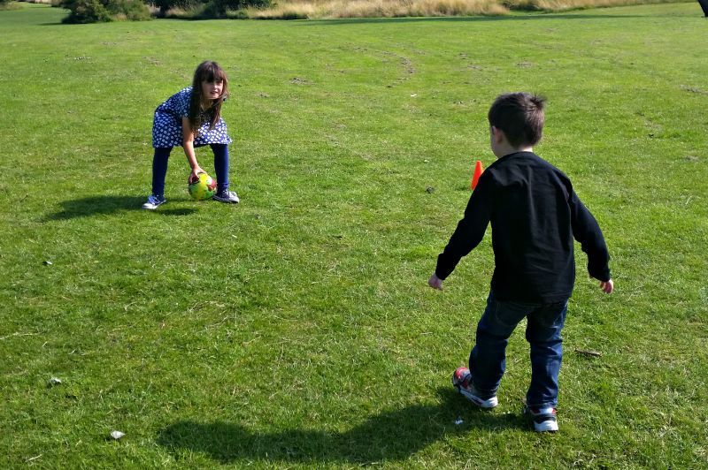 Siblings {August 2015} - Bure Park