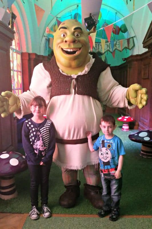Siblings {August 2015} - Shreks Adventure! London