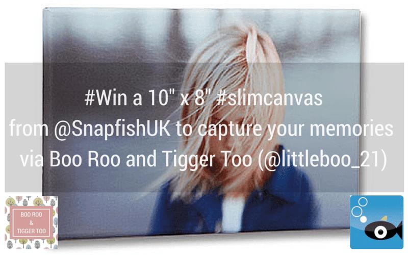 Snapfish Slim Photo Canvas #giveaway