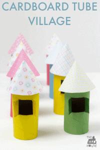 cardboard-tube-village-