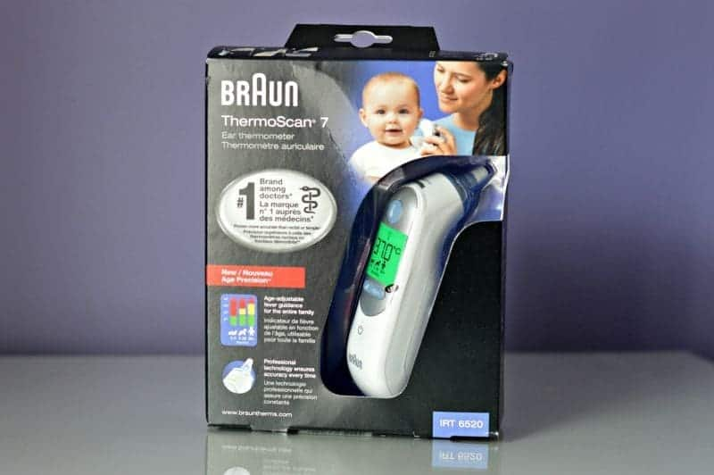Braun ThermoScan® 7 with Age Precision® IRT6520