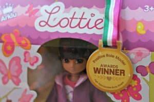 Butterfly Protector Lottie doll -Positive Role Model Winner