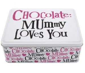 Chocolate Tins - Mummy loves You