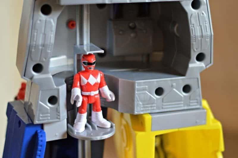 Imaginext Power Rangers Morphin Megazord - Elevator