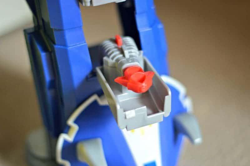 Imaginext Power Rangers Morphin Megazord - Missile Launcher