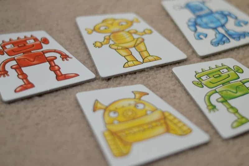 Orchard Toys Robot Run - Picture cards