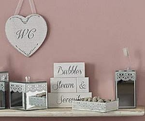 White Washed Bubble Steam and Serenity Blocks from Dunelm