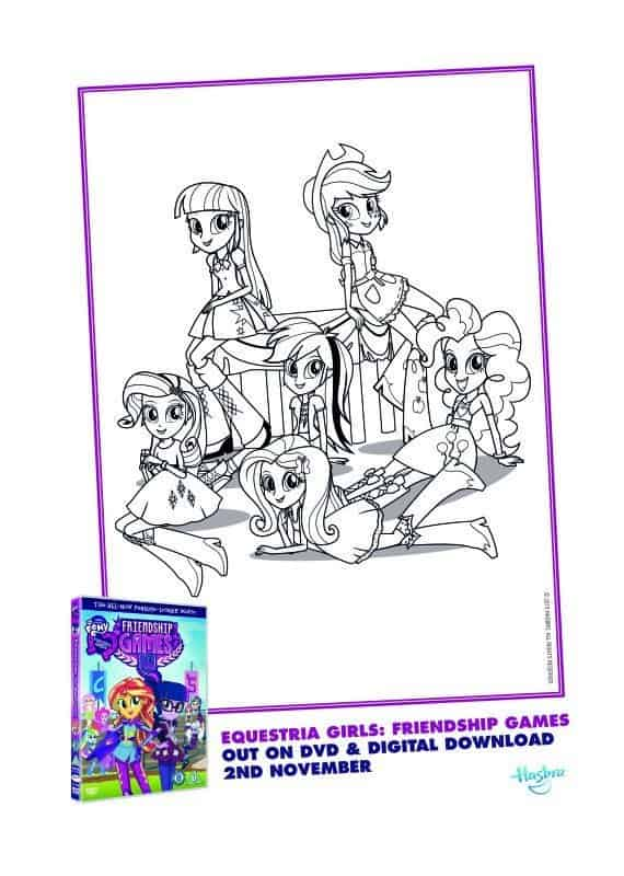 mlp coloring pages games cool - photo#26