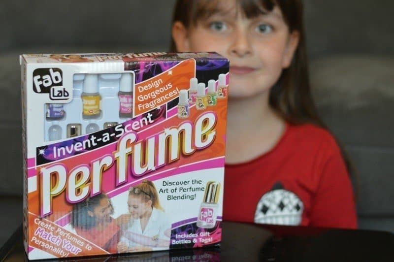 FabLab – Invent-a-scent perfume {Review} + #Giveaway