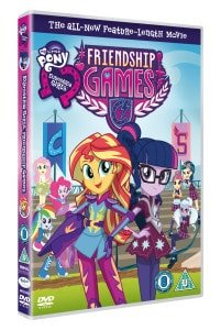 EQUESTRIA GIRLS: FRIENDSHIP GAMES DVD