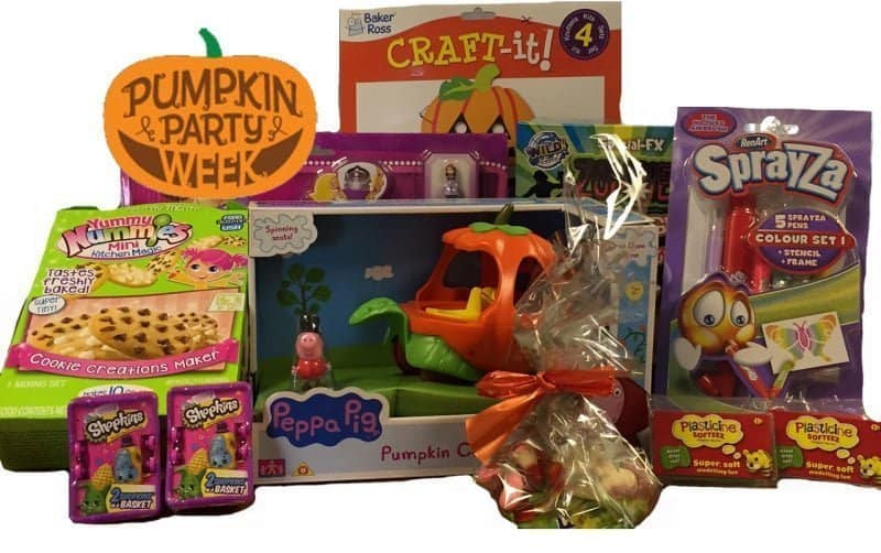 Nick Jr. Pumpkin Prize Bundle