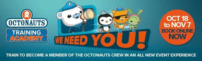 Octonauts Training Academy