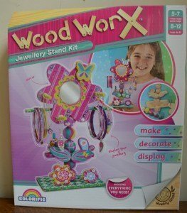 Woodworx Jewellery Stand Kit Review