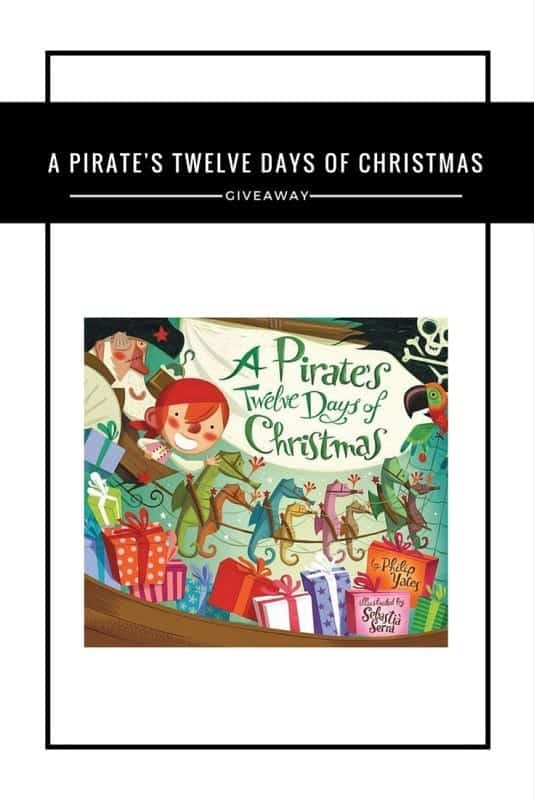A Pirate's Twelve Days of Christmas #Giveaway