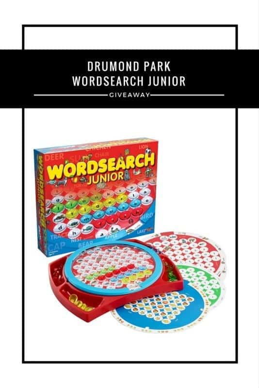 Drumond Park Worsearch Junior #Giveaway