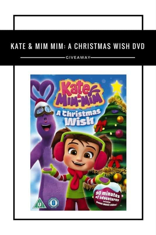 Kate & Mim Mim- A Christmas Wish DVD #Giveaway