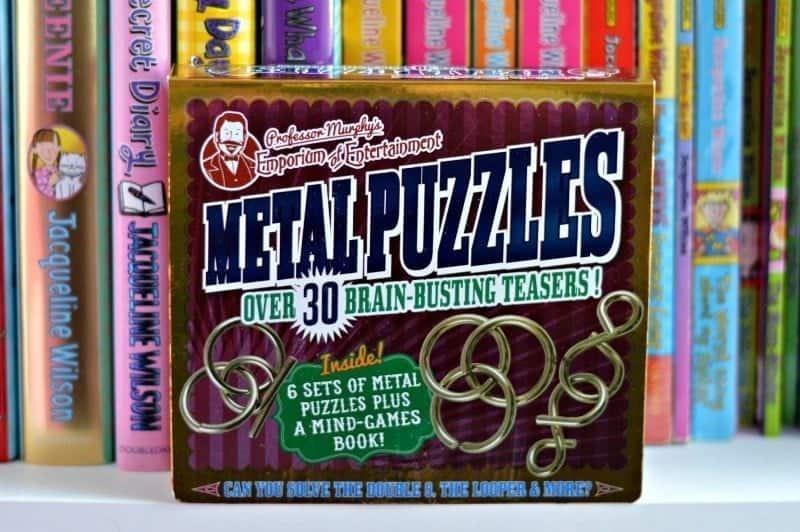 Professor Murphy Metal Puzzles Set