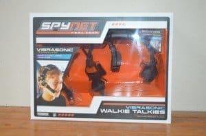 Spy Net Vibrasonic Walkie Talkies