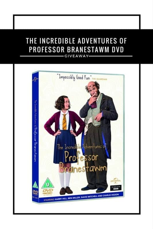 The Incredible Adventures of Professor Branestawm DVD #Giveaway