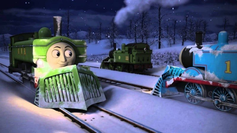 Thomas & Friends The Christmas Engines DVD - Last Train for Christmas