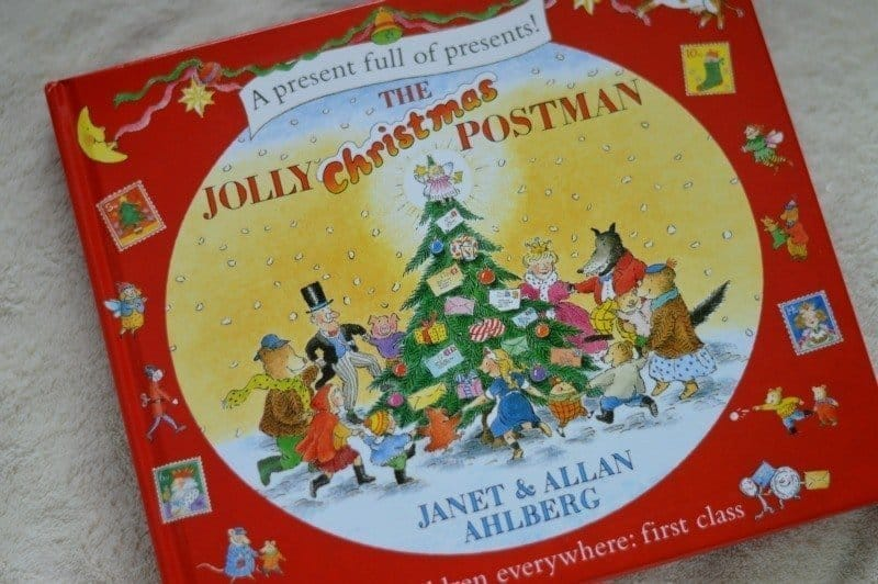 Christmas Eve Box Something to read - The Jolly Christmas Postman