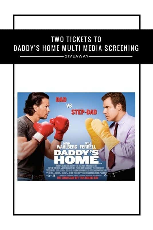 Daddy's Home multi media screening #Giveaway
