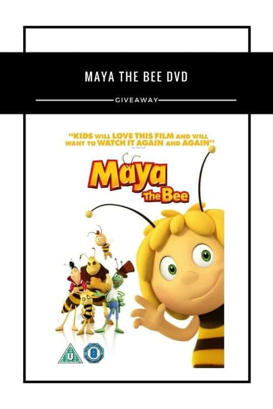 Maya The Bee DVD #Giveaway