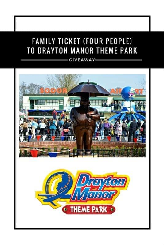 Drayton Manor family ticket #giveaway